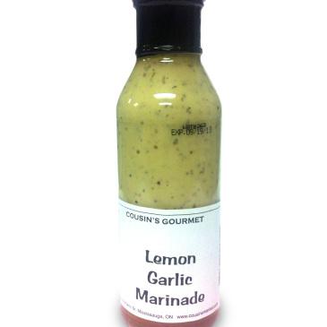 Cousin's Gourmet Lemon Garlic Marinade