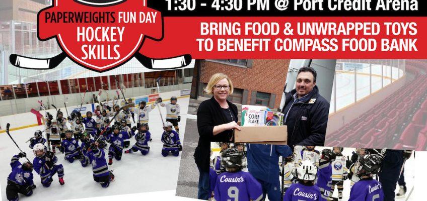 Paperweights Fun Day – Hockey Skills